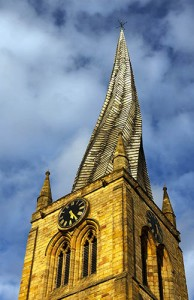 St Mary and All Saints Parish Church, Chesterfield, a.k.a. The Crooked Spire