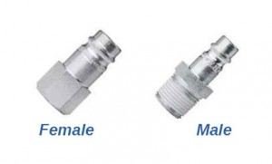 Female Threaded and Male Threaded Hydraulic Fittings