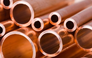 copper fittings and tubes