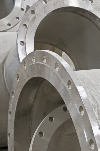 INDUSTRIAL PIPES FLANGES STEEL