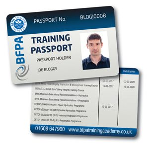 BFPA Training Passport